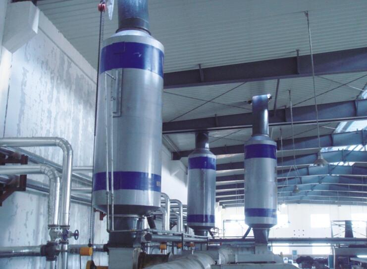 格林兰集团20000m³/h×4定型机废气处理国际龙8娱乐老虎机