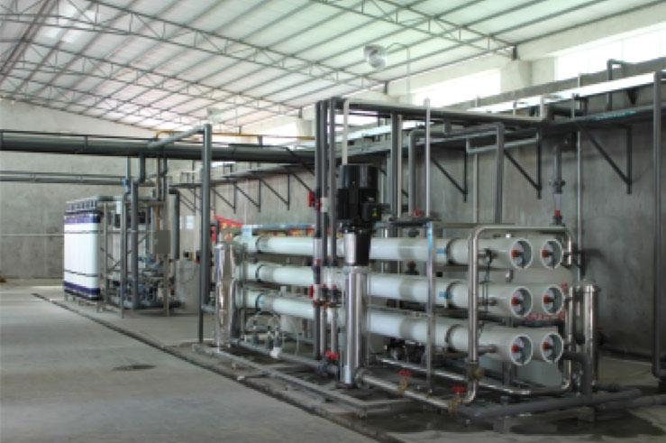 丰顺东达电子有限公司中水回用反渗透系统及中央控制室